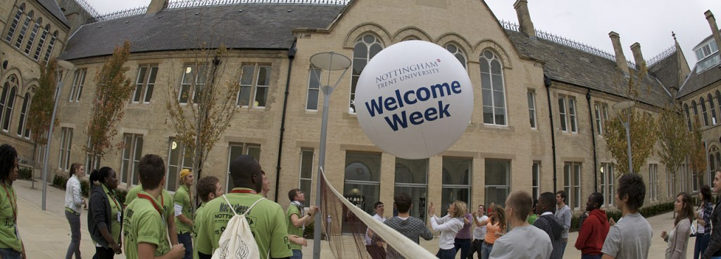 Welcome Week в Ноттингем Трент